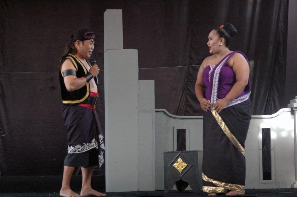 Foto - Gelar Seni Tradisi Sepanjang Tahun 2018. Kethoprak Sarwo Budaya, Ngampilan, Kota Yogyakarta