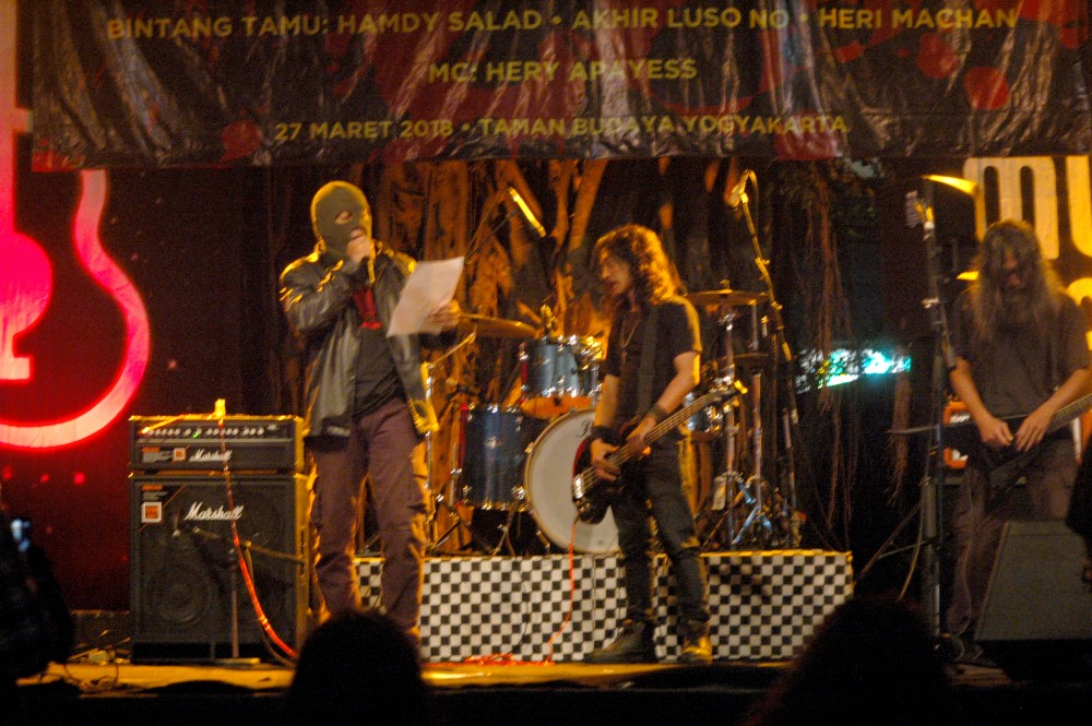 Foto - Musik Malam: Taman Bawah Tanah Maliobor, 27 Maret