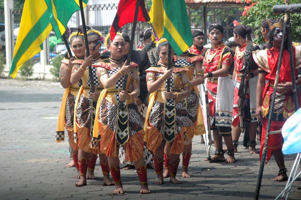 Foto - Seni Tradisi Sepanjang Tahun2018: Jathilan Turonggo Mudo Perwiro, Dlingo bantul