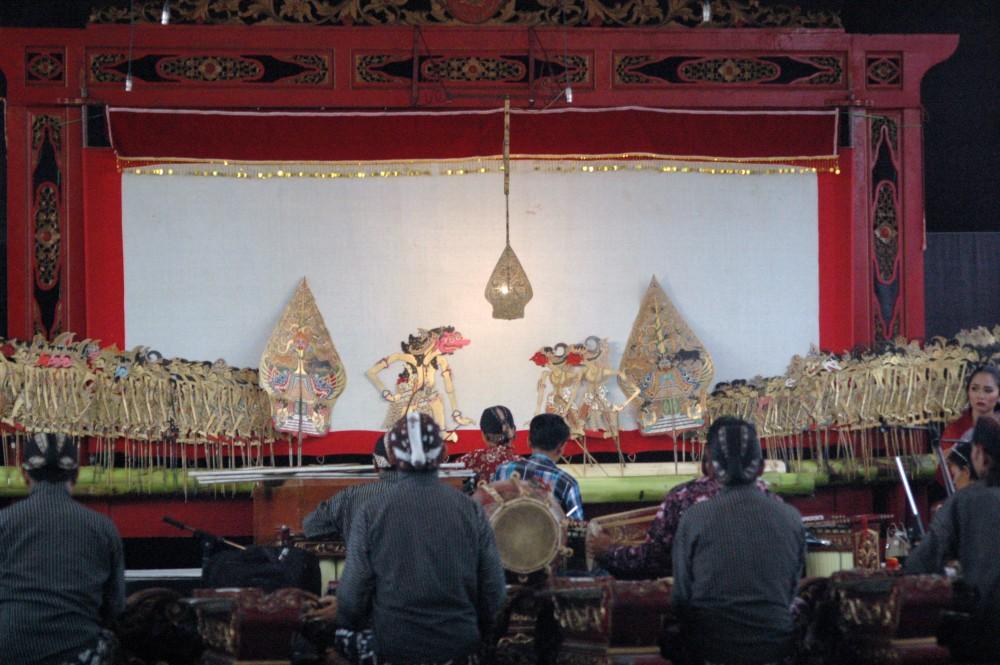 Foto - Seni Tradisi Sepanjang Tahun2018: Wayang Kulit Dalang Ragil Jalu Pengestu, Lakon Pandawa Kumpul,