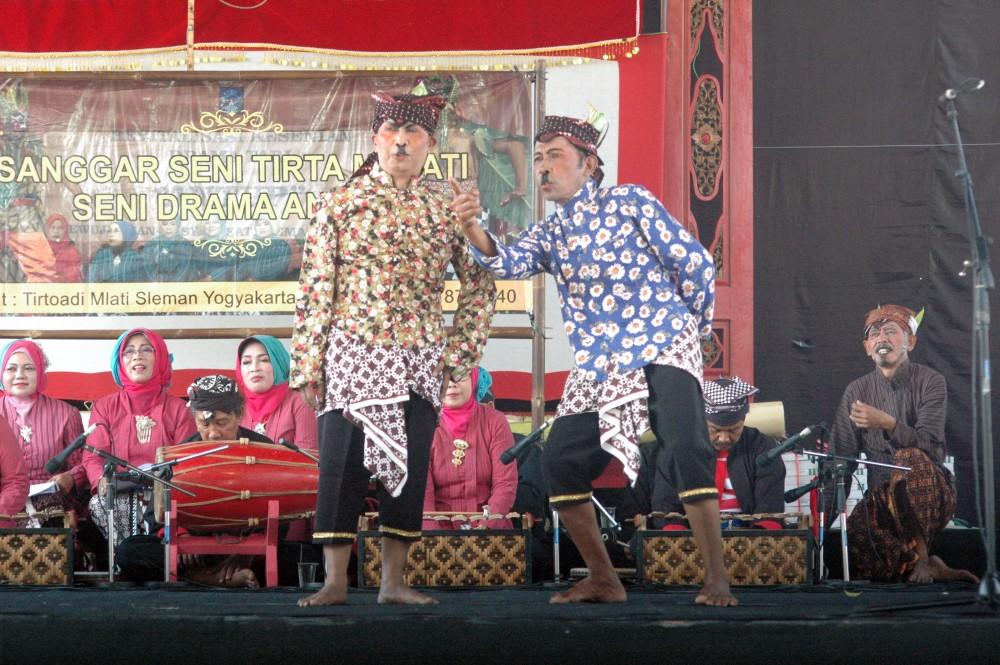 Foto - Seni Tradisi Sepanjang Tahun 2018: Antub Tirtomanunggal, Sanggrahan Tirtoadi, Mlati, Sleman